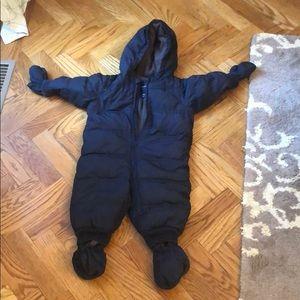 Baby Gap Winter Coat Onsie Snowsuit